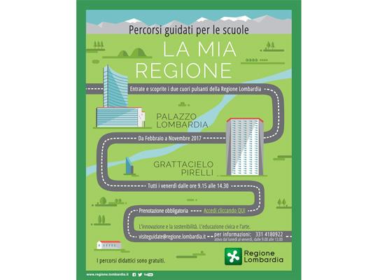 Visite guidate agli edifici-simbolo di Regione Lombardia